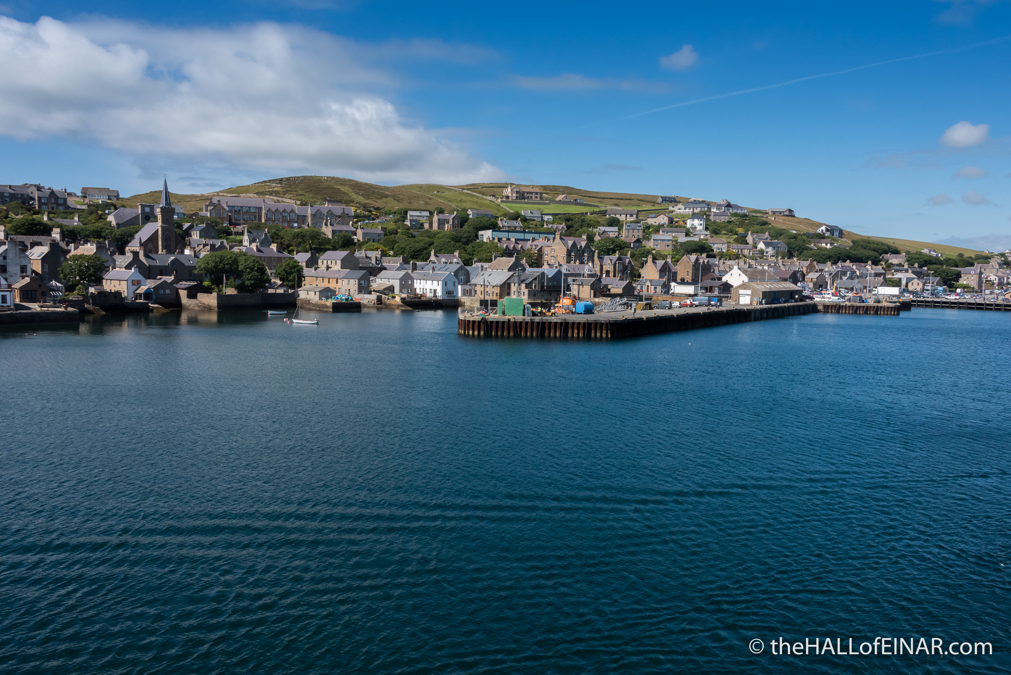 Stromness - The Hall of Einar - photograph (c) David Bailey (not the)
