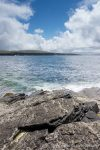 Westray coastline - The Hall of Einar - photograph (c) David Bailey (not the)