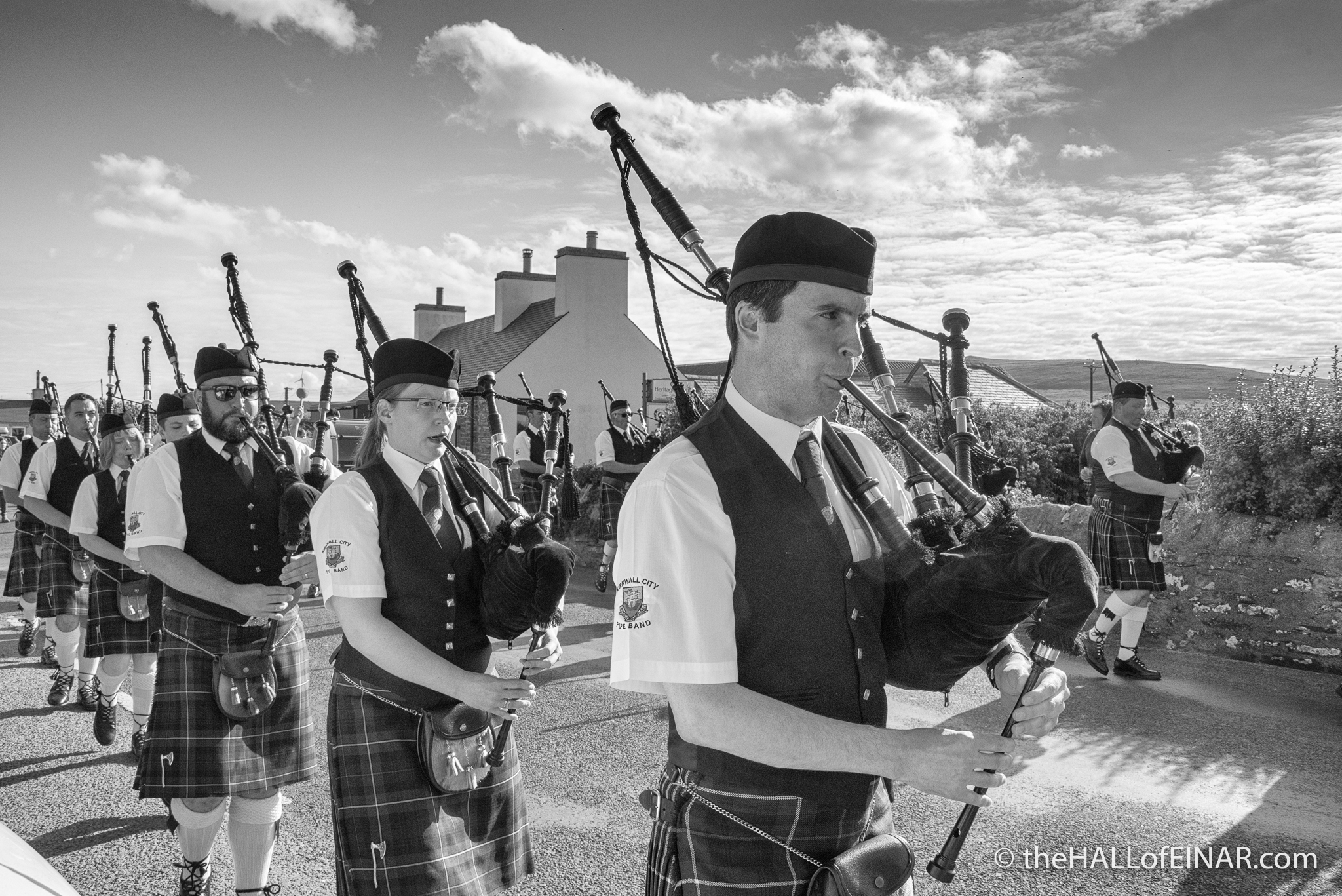 Westray Connections Parade - photograph (c) David Bailey (not the)