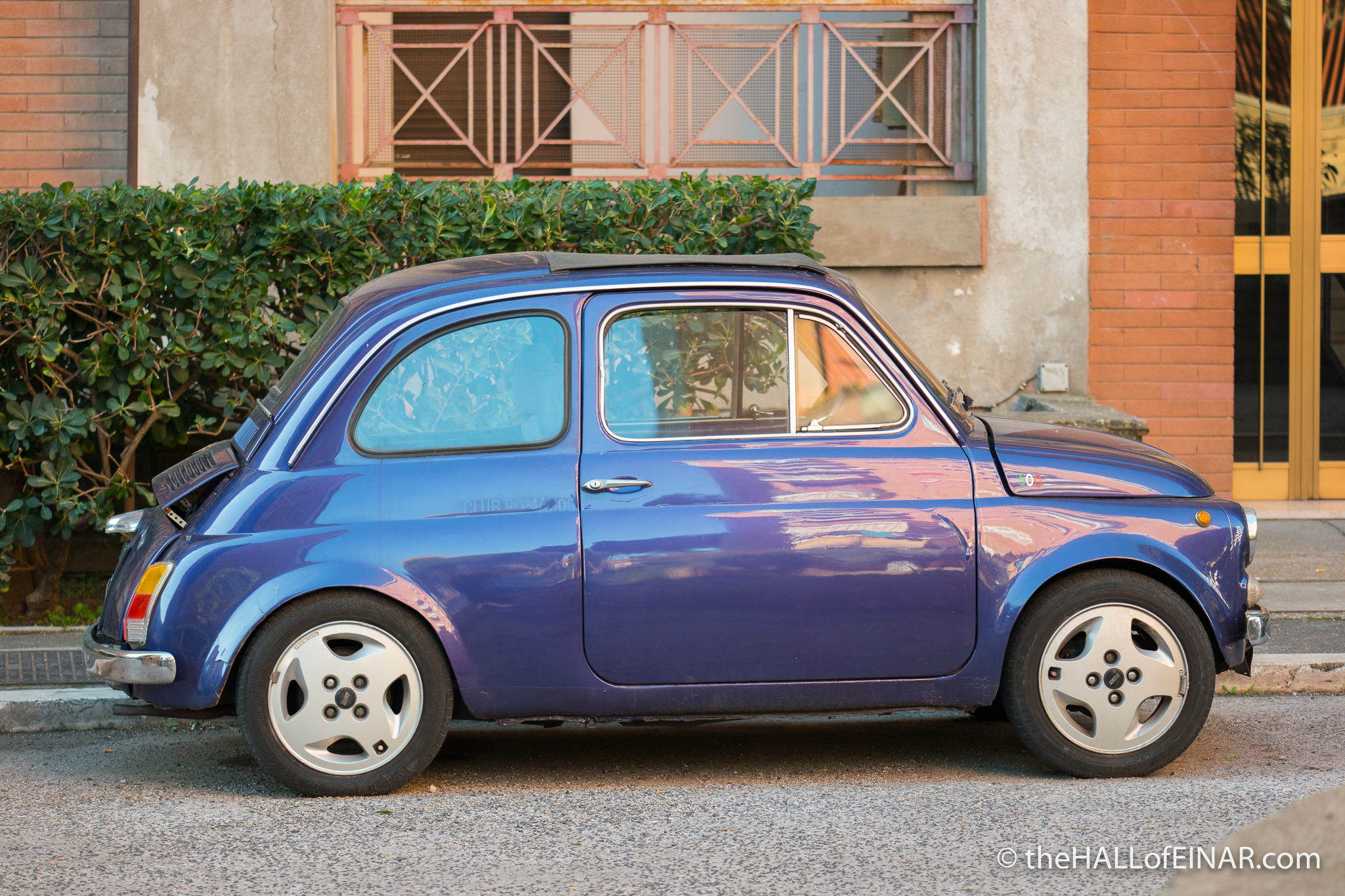 Fiat 500 - The Hall of Einar - photograph (c) David Bailey (not the)