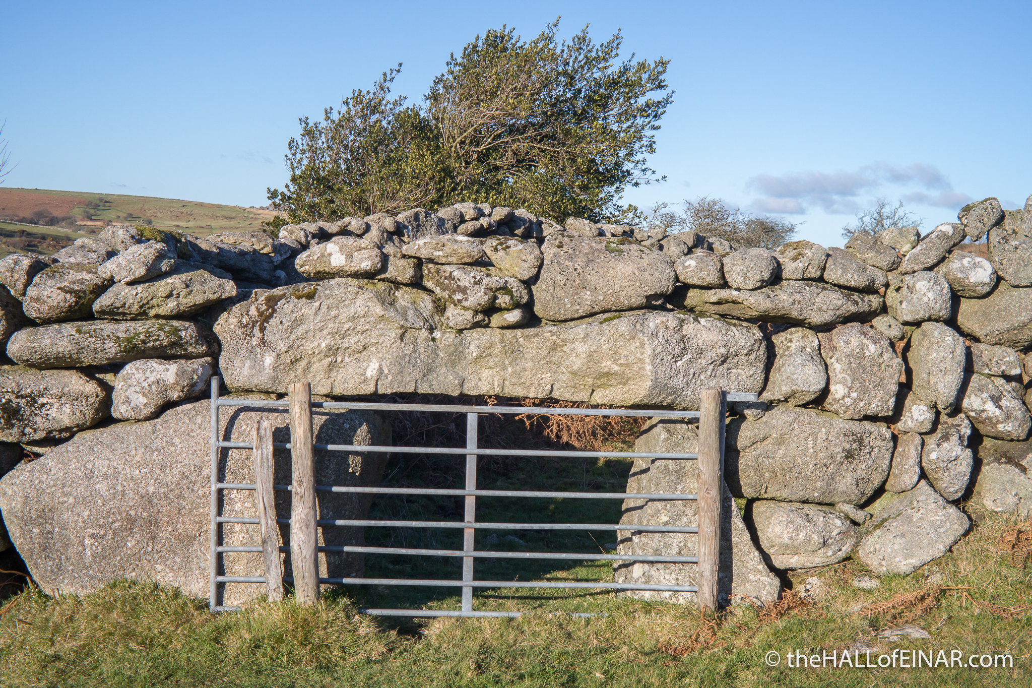 Sheep Doorway - The Hall of Einar - photograph (c) David Bailey (not the)