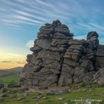 Hound Tor - The Hall of Einar - photograph (c) David Bailey (not the)