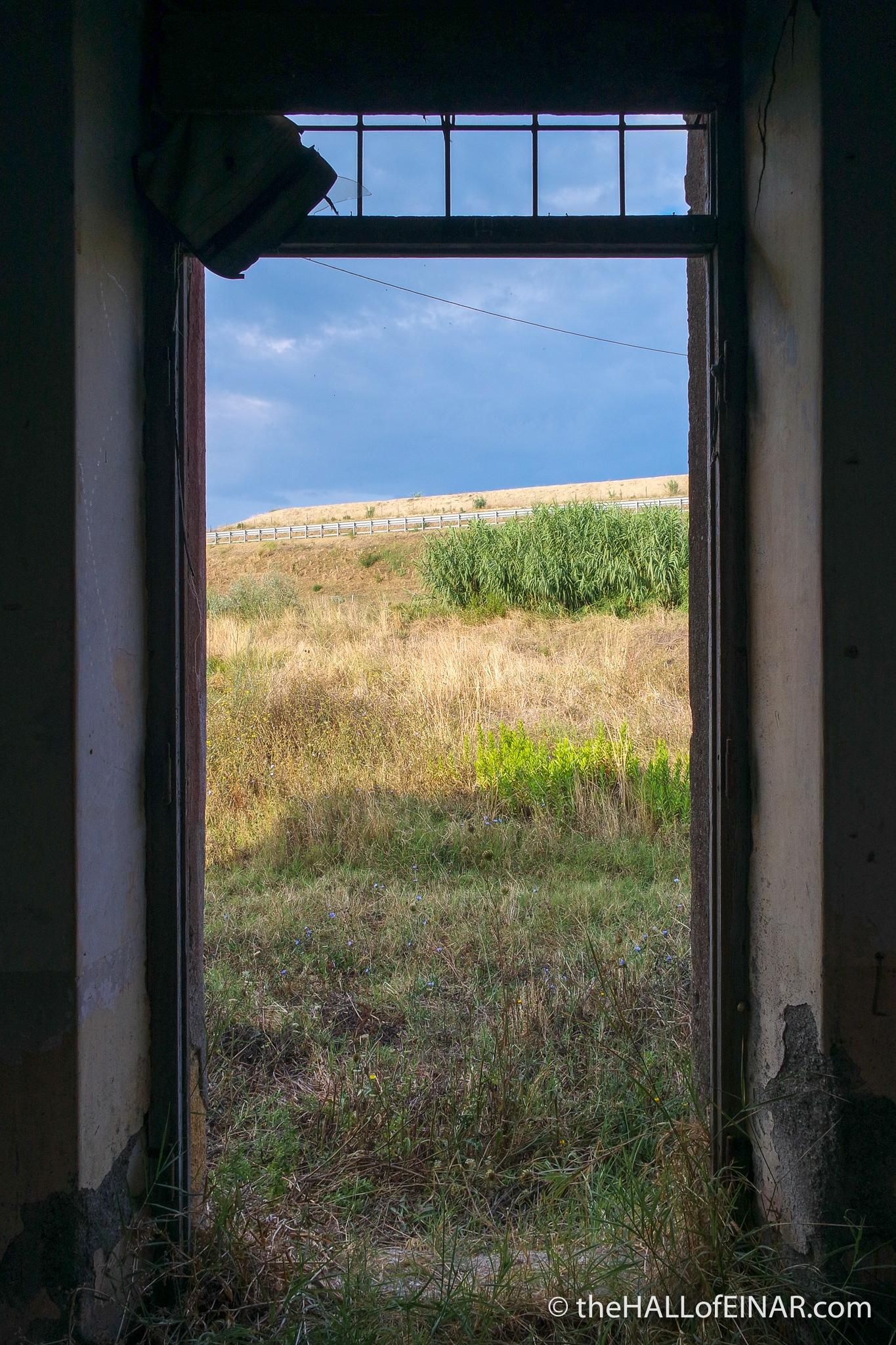 Tarquinia - The Hall of Einar - photograph (c) David Bailey (not the)