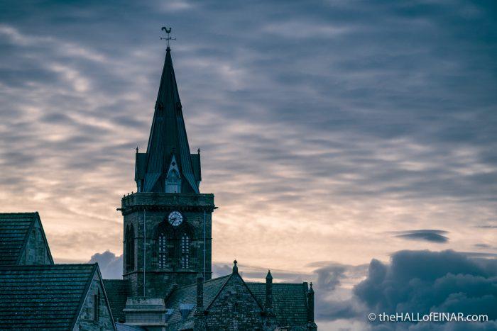 Kirkwall at dawn - The Hall of Einar - photograph (c) David Bailey (not the)