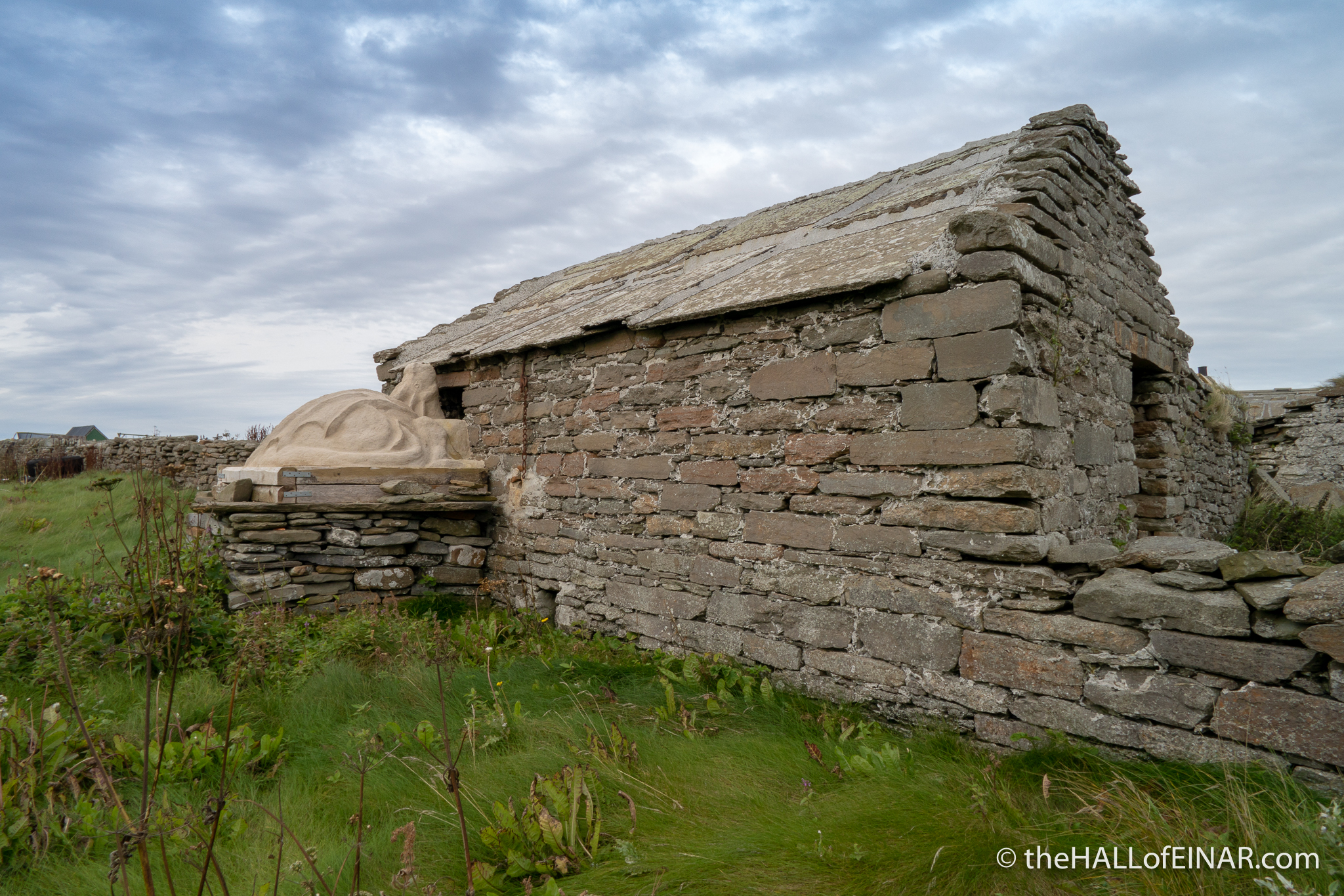 Westray Coast 50 - The Hall of Einar - photograph (c) David Bailey (not the)