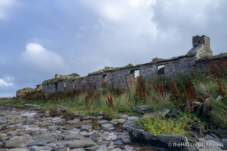 Westray Coast 50 - The Hall of Einar - photograph (c) David Bailey (not the)