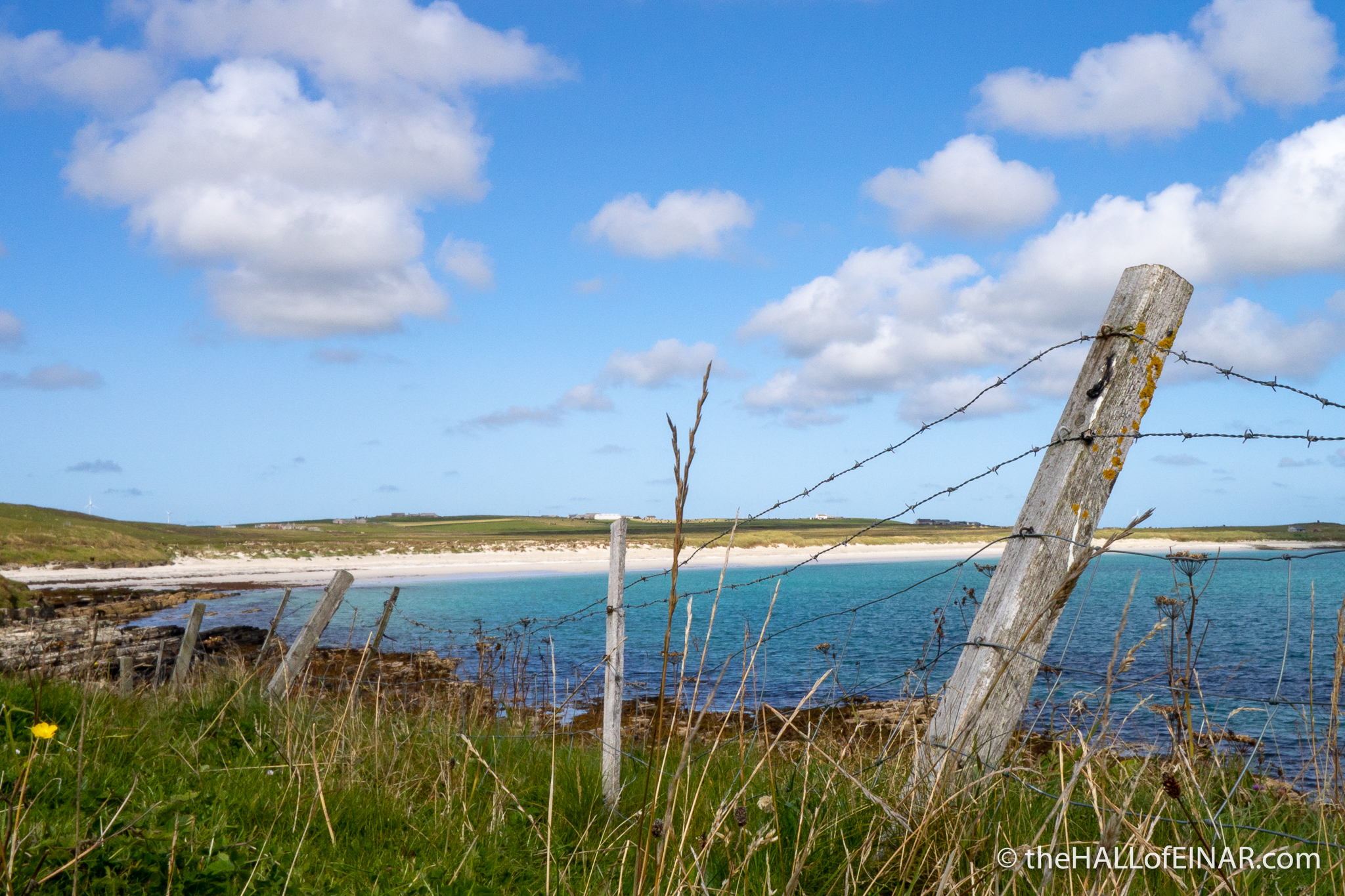Westray Coast - The Hall of Einar - photograph (c) David Bailey (not the)