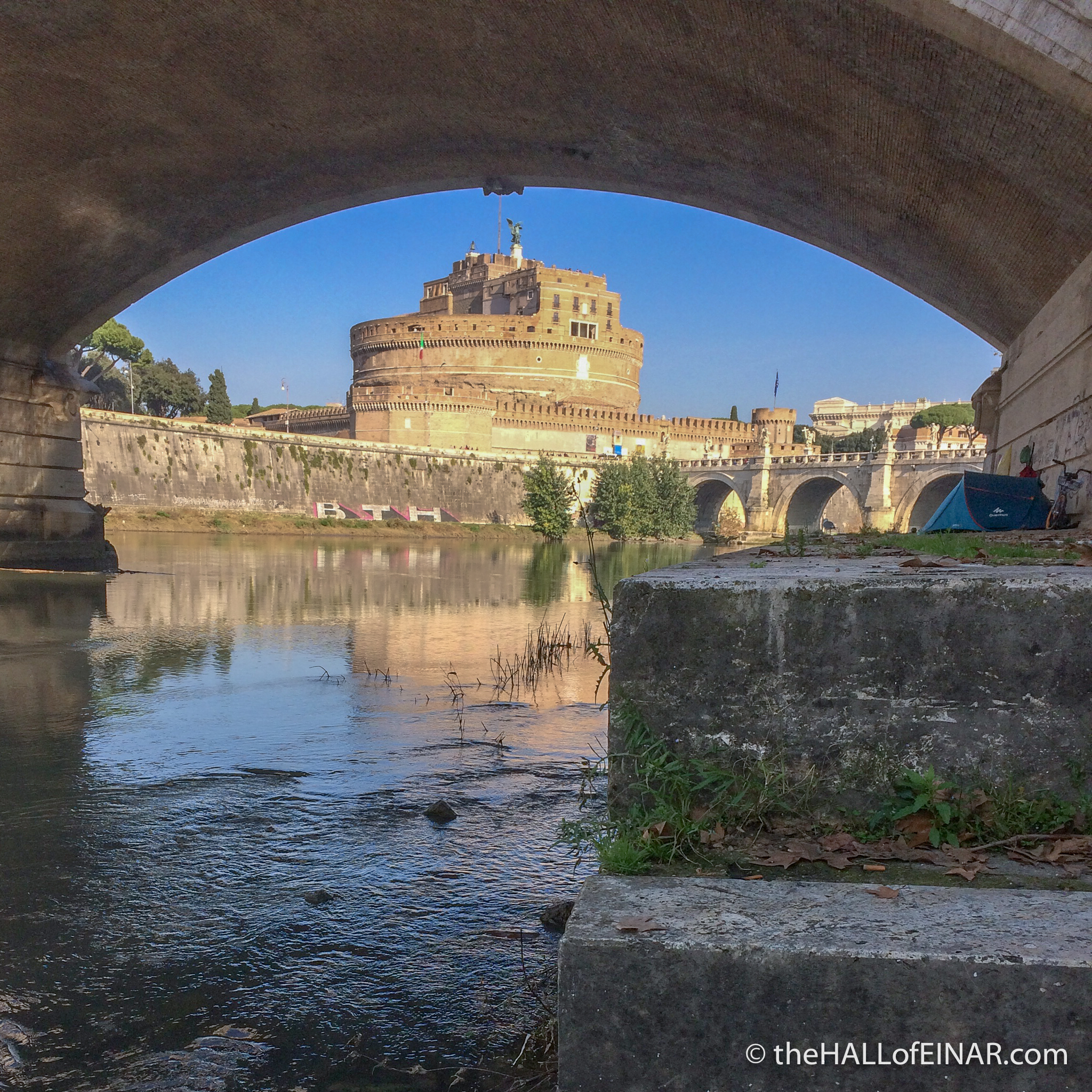 River Tevere - The Hall of Einar - photograph (c) David Bailey (not the)
