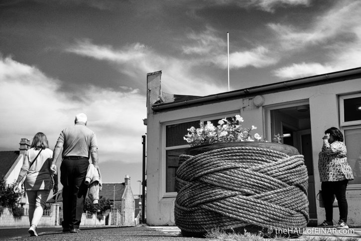 Kirkwall - The Hall of Einar - photograph (c) David Bailey (not the)