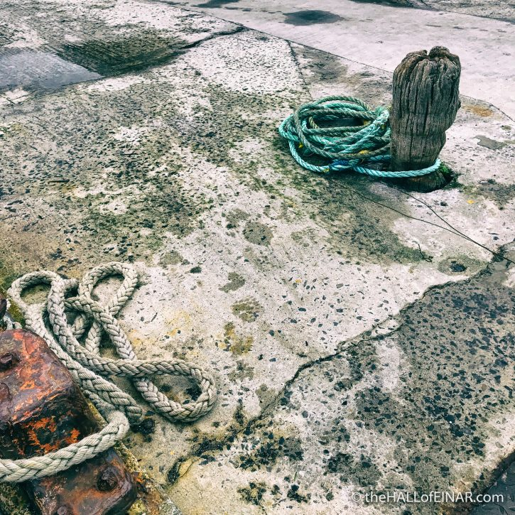 The Golden Mariana to Papa Westray - The Hall of Einar - photograph (c) David Bailey (not the)