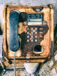 Telephone box - The Hall of Einar - photograph (c) David Bailey
