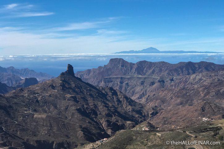 Roque Bentayga - Gran Canaria - The Hall of Einar - photograph (c) David Bailey (not the)