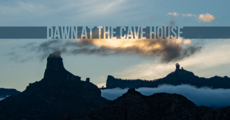 Dawn at the Cave House, Acusa Seca, Gran Canaria - The Hall of Einar