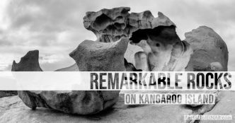 Kangaroo Island - Remarkable Rocks - The Hall of Einar