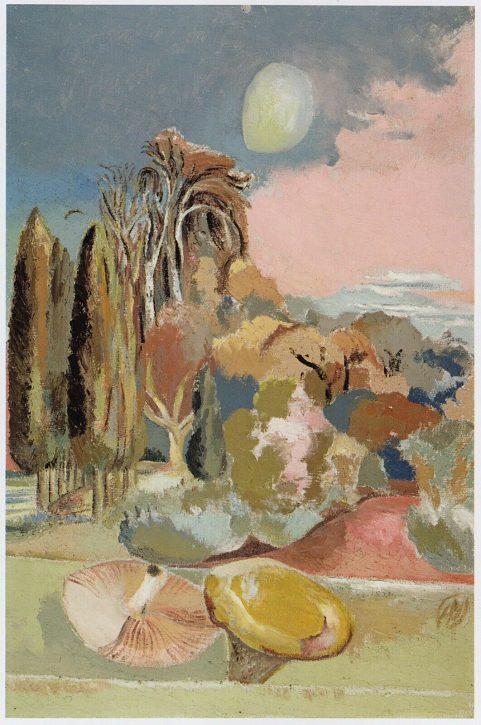 Paul Nash - November Moon