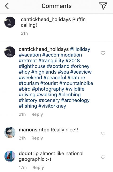 Theft, Lies and Instagram - Cantick Head Lighthouse