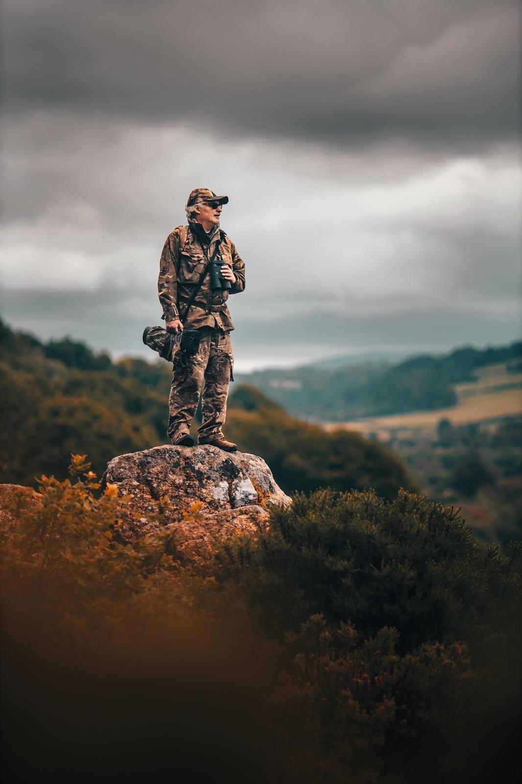 David on the Hunters Path - photograph (c) Gabriel Bailey