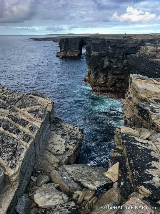 Westray - The Hall of Einar - photograph (c) David Bailey (not the)
