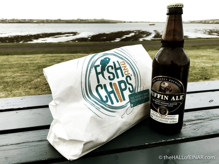 Fish and Chips at Jack's Chippy on Westray - The Hall of Einar