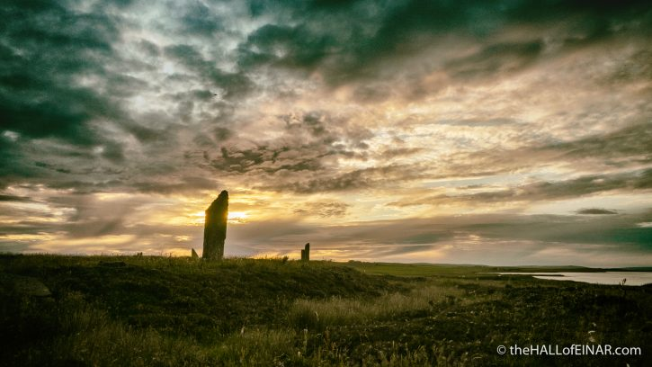 Ring of Brodgar - The Hall of Einar - photograph (c) David Bailey (not the)