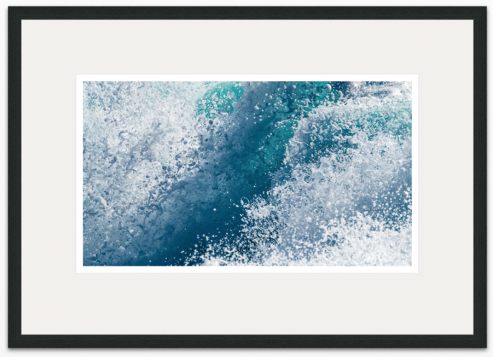 48 x 27cm Atlantic Wave - The Hall of Einar