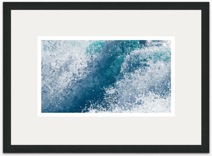 64 x 36cm Atlantic Wave - The Hall of Einar