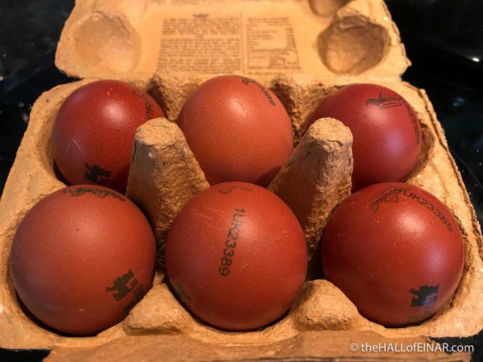 Eggs - The Hall of Einar - photograph (c) David Bailey (not the)