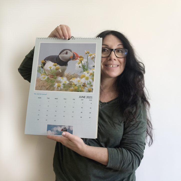 Puffin Calendar 2021 - Cover (c) Antonella Papa