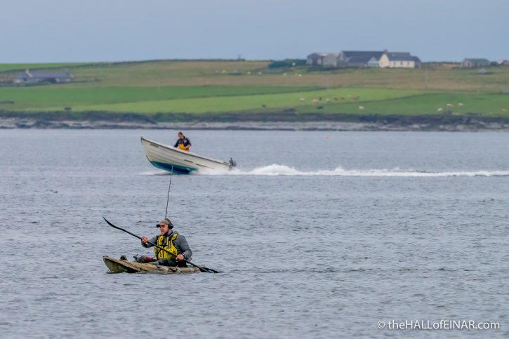 Kayak - The Hall of Einar - photograph (c) David Bailey (not the)