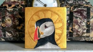 Puffin Icon - The Hall of Einar - photograph (c) David Bailey (not the)