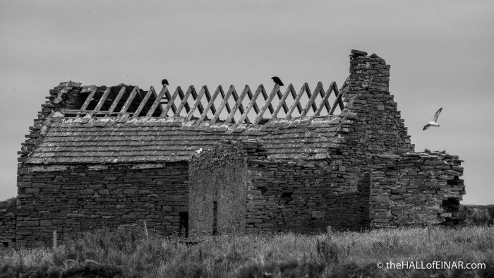 Skeleton House - The Hall of Einar - photograph (c) David Bailey (not the)
