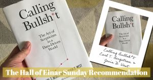 Calling Bullshit - Sunday Recommendation