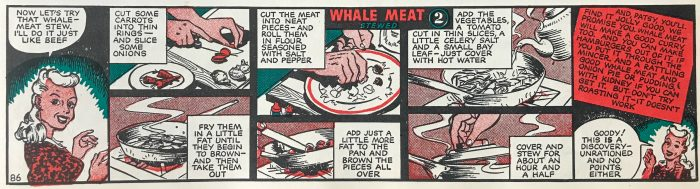 Patsy Whale meat - The Hall of Einar