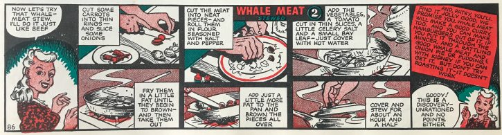 Patsy Whale meat- The Hall of Einar