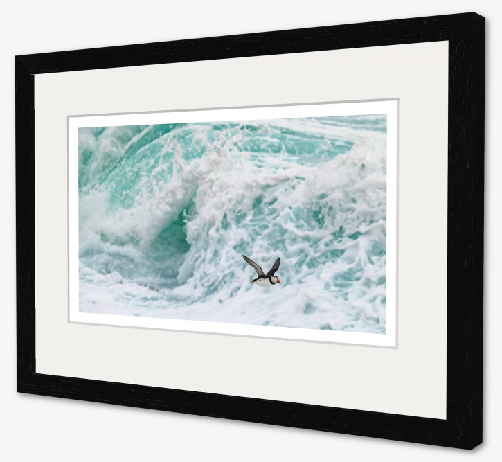 Out of the Maelstrom - 38 x 18cm framed.