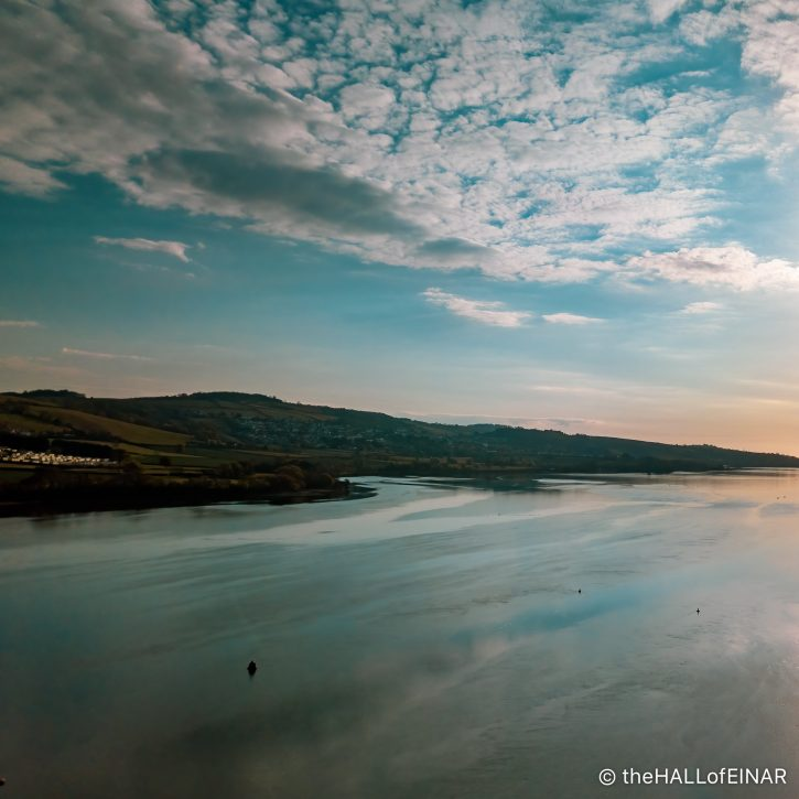 River Teign - The Hall of Einar - photograph (c) David Bailey (not the)