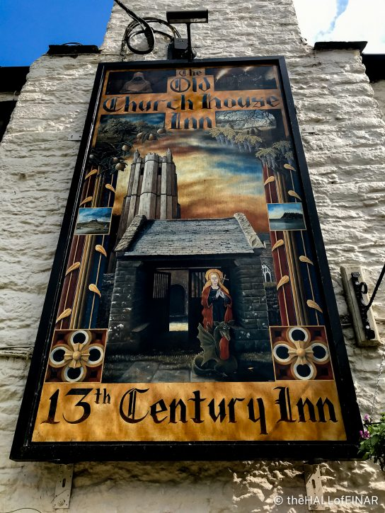 The Olde Church House Inn Torbryan - The Hall of Einar - photograph (c) David Bailey (not the)