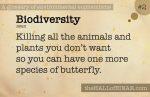 2 Biodiversity - a glossary of environmental euphemisms