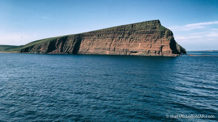 Orkney Island - The Hall of Einar - photograph (c) David Bailey (not the)