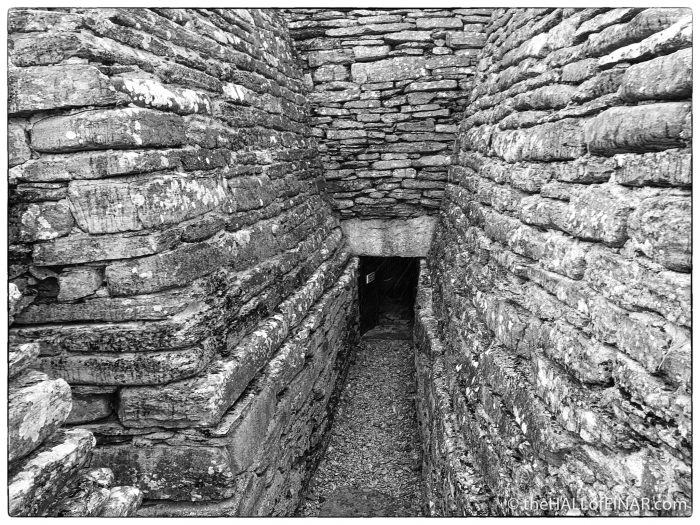 Quoyness Chambered Cairn, Sanday - The Hall of Einar - photograph (c) David Bailey (not the)