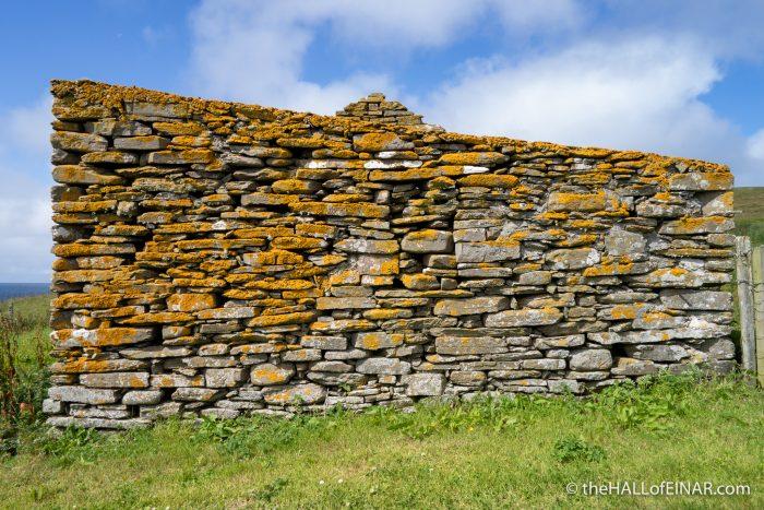 West Kirbest - The Hall of Einar - photograph (c) David Bailey (not the)